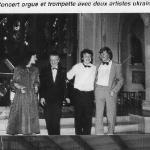 Concert orgue et trompette avec deux artistes ukrainiens