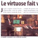 Статья о концерте в Эпувилле. 2011