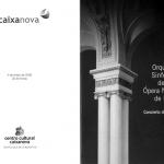 Программа концерта в Испании